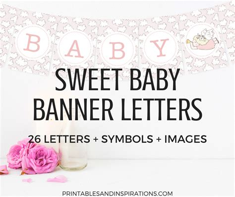Free Printable Banners For Baby Shower by Free Printable Baby Shower Decorations Banner Letters