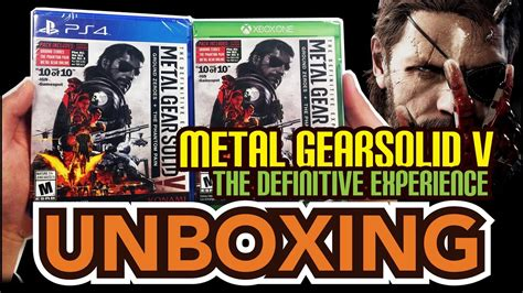 Ps4 Metal Gear Solid V Definitive Experience metal gear solid v the definitive experience ps4 xbox one