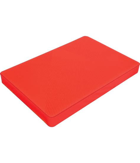 chopping board plastic skw red plastic chopping board size 3 buy online at best