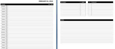 daily planner template word daily weekly ms word planner templates office