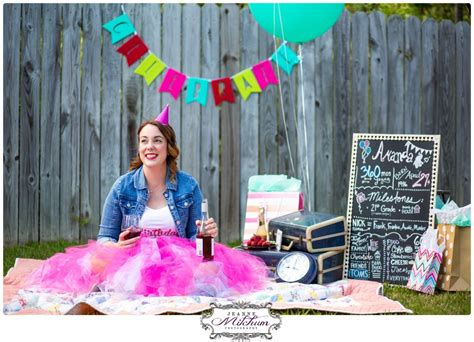 A Cake Smash Photo Shoot for a 30 Year Olds Birthday