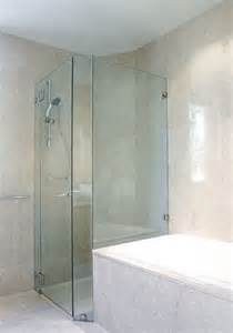 corner glass shower doors frameless corner frameless glass shower enclosures contemporary