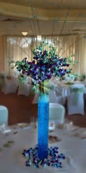 Silver Fish Bowl Vase 1000 Ideas About Blue Orchid Centerpieces On Pinterest