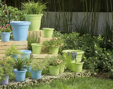 Bright Planters by Crescent Garden Bright Planters