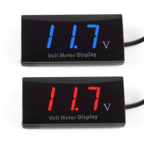 Voltmeter Mini Dc 12 Volt dc 8 16v led digital display voltmeter mini voltage meter volt tester panel for dc 12v cars