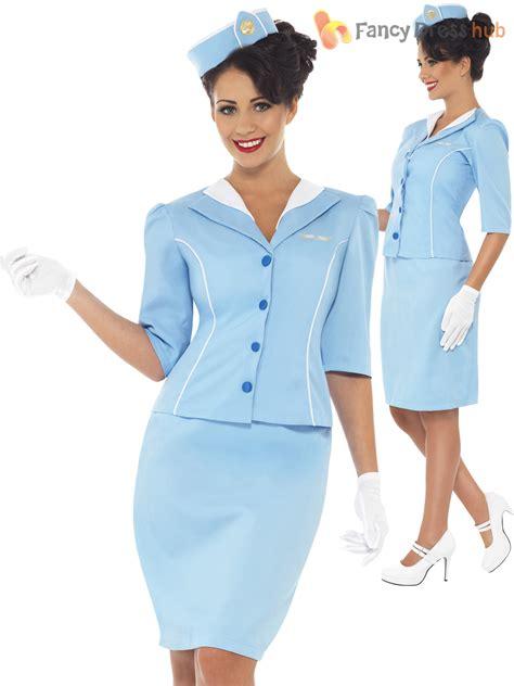 air cabin crew uk air hostess costume stewardess cabin crew fancy