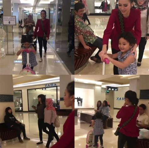 Tas Pesta Anak Wanita Hangout Jalan Mall Merah Modis Sl Diskon ayu ting ting dicuekin saat jalan jalan di mall netter nyinyir habis habisan