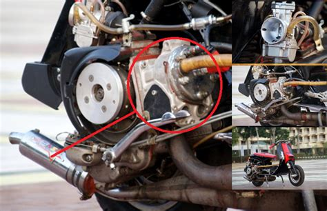Mesin Motor 4 Silinder kawasaki nusantara ediyaaaan apa jadinya jika blok silinder 150 terpasang di