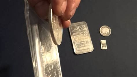1 Ounce Silver Bar Size by 1 Gram 1 Oz 10 Oz Silver Bars