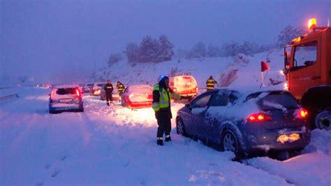 cadenas nieve obligatorias cadenas obligatorias para circular por varias carreteras