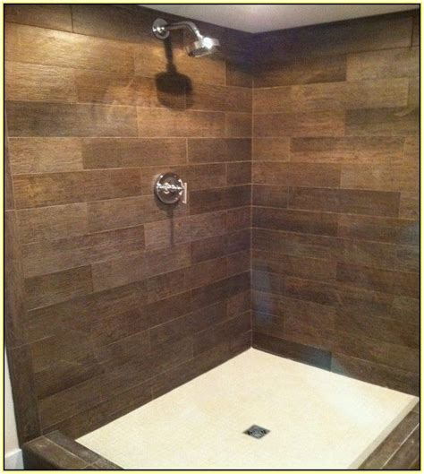 wood tile bathroom 1000 ideas about wood tile shower on wood