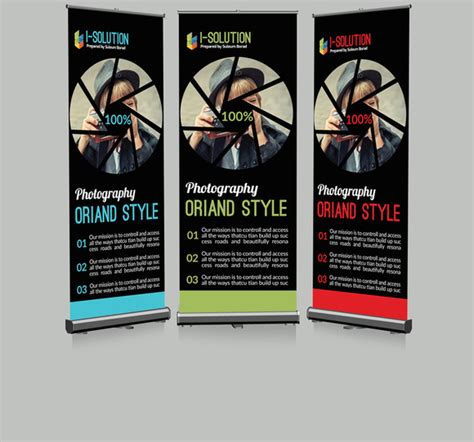 photography banner template template photography roll up banner 187 designtube creative design content