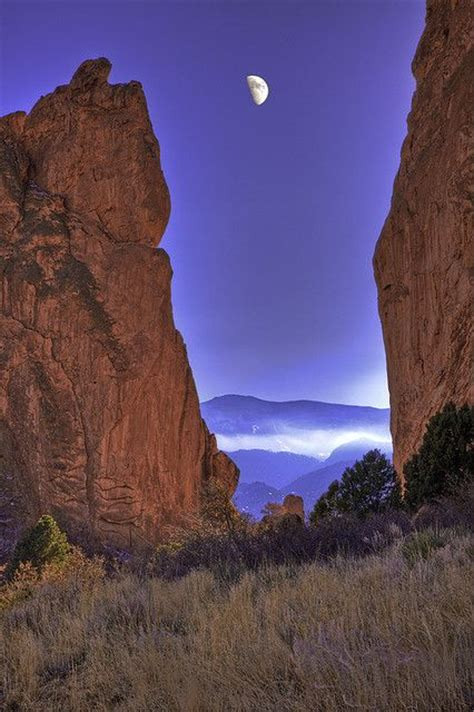 Garden Of The Gods Usa Colorado Springs Colorado And God On