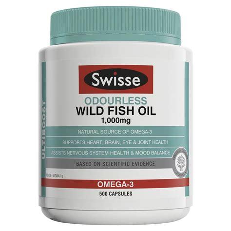 Swisse Ultiboost Odourless Fish 1000mg 500 Capsules Buy Swisse Ultiboost Odourless Fish 1000mg 500