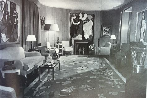 1930s living room icons of new york rockefeller rich on fifth avenue