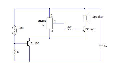 light sensor circuit using ldr alarm circuit page 13 security circuits next gr