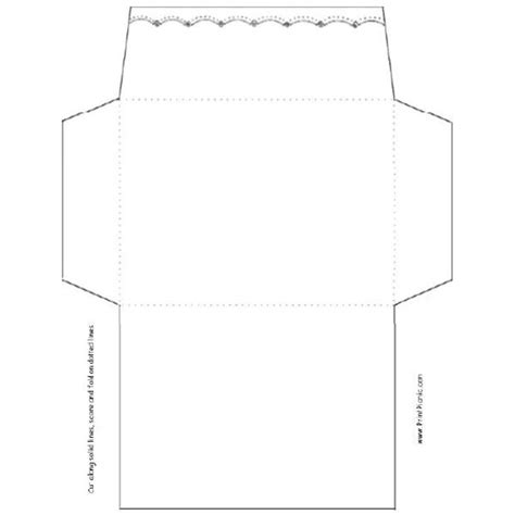 envelope fold template