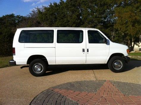 how cars work for dummies 2006 ford e 350 super duty engine control find used 2006 ford e 350 cargo van in georgetown texas united states for us 8 500 00