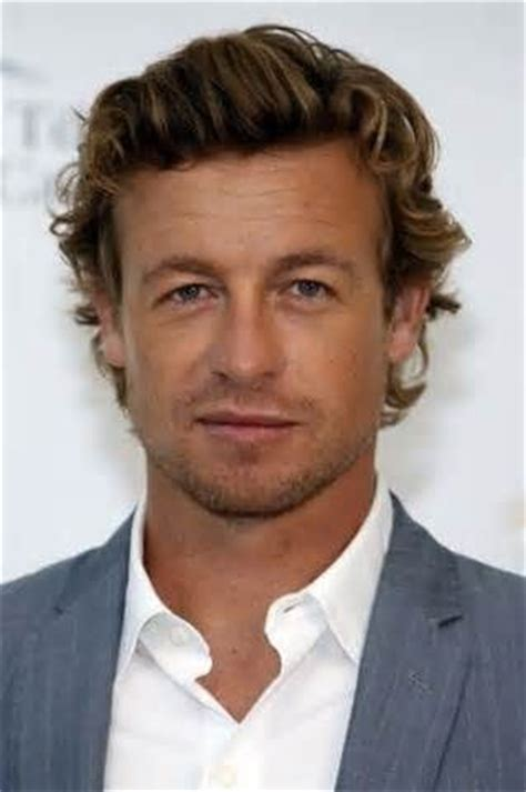 blond hair actor in the mentalist australian actor simon baker s hair the man show