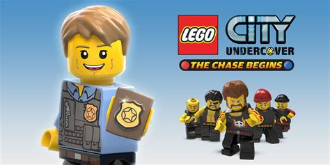 LEGO CITY Undercover: The Chase Begins Nintendo 3DS
