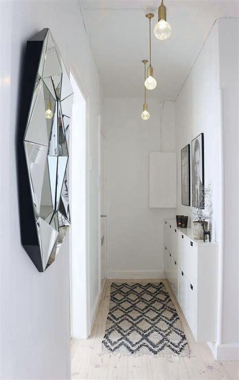 tips  decorate  small hallway kreavilla