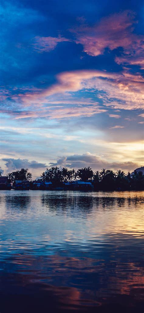 nx sunset river lake beautiful nature wallpaper