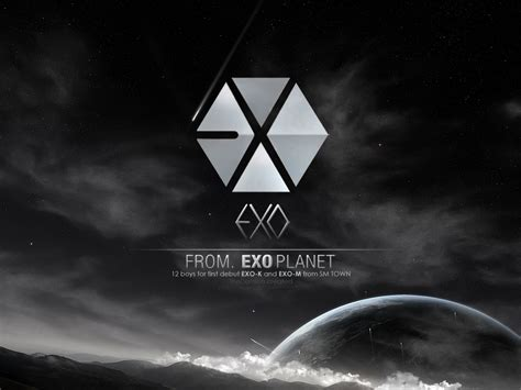 exo ipad wallpaper hd exo logo wallpaper wallpapersafari