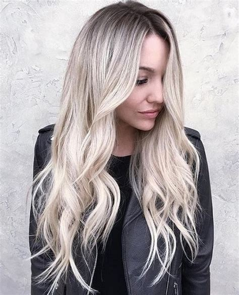 are roots with blonde hair in style rooted blonde color cut and color trends to keep on your