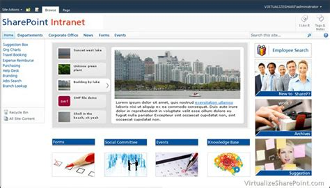 sharepoint layout design exles sharepoint 2010 intranet sle design aryan nava