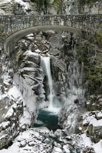 Christine Falls Mount Rainier National Park