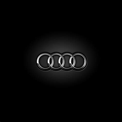 freeios audi logo parallax hd iphone ipad wallpaper