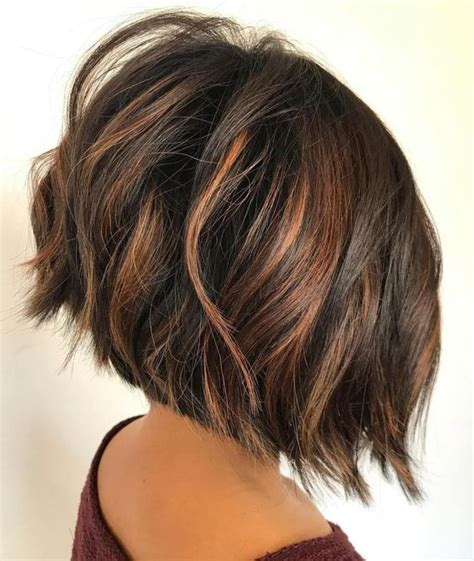 graduated bob with side parting and fringe best 25 thick hair bobs ideas on pinterest long thick