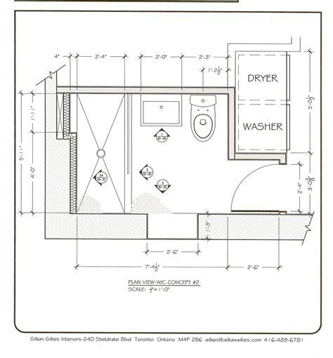 master bath floor plan except i see no need for his her project james basement shower room gillian gillies s