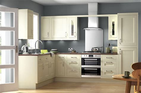 kitchen design b and q it holywell ivory style framed diy at b q