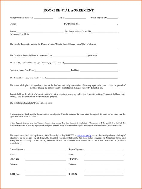 easy printable form creator easy lease agreement 10 easy rental agreement forms