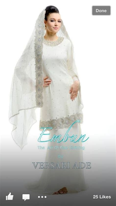 Baju Kebaya Akad Nikah Muslim Simple 17 best images about wedding on wedding muslim and styles