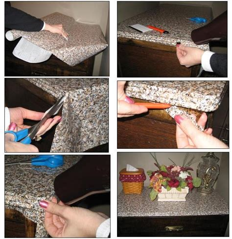 Granite Countertop Contact Paper by Glass Decor And More Check Back Frequently For