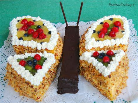 bagna torta bambini torta di compleanno farfalla senza pasta di zucchero