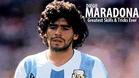 Diego Maradona Diego Maradona Greatest Skills Tricks Hd
