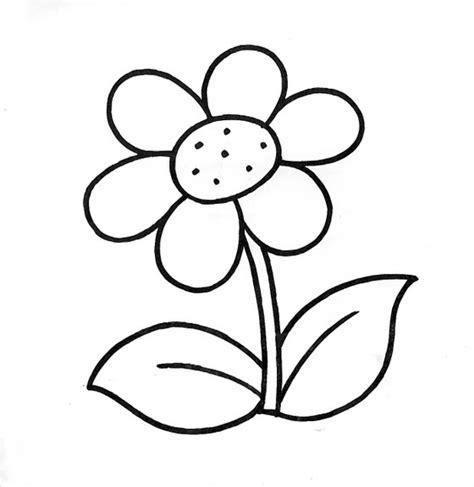 imagenes infantiles para colorear de flores dibujos infantiles dibujo infantil flor