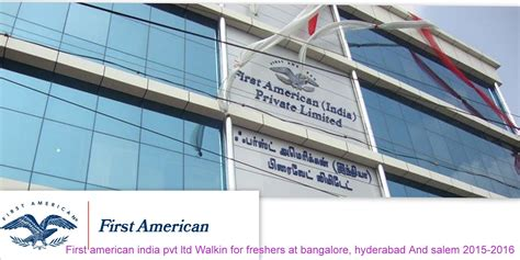 Walk In In Bangalore For Mba Finance by American India Pvt Ltd Walkin For Freshers At