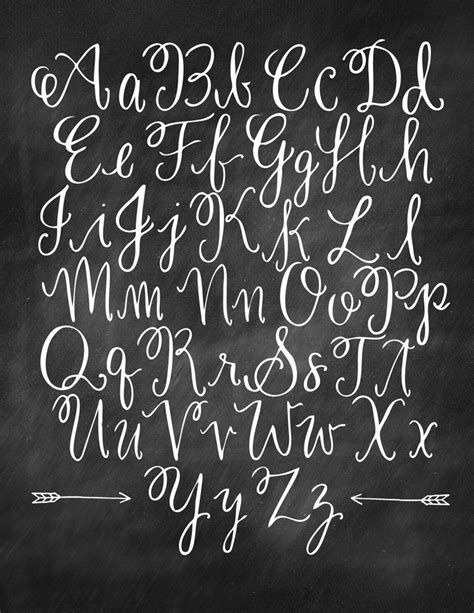 typography cursive 25 best ideas about chalkboard lettering alphabet on