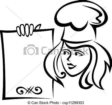 clipart ristorante clipart vecteur de chef cuistot menu papier restaurant