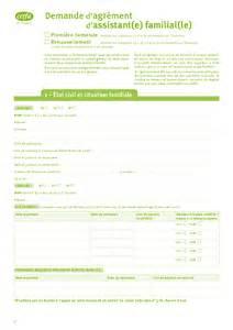 Cerfa Credit Impot Formation Dirigeant 2014 Cerfa N 176 13395 01 Demande D Agr 233 Ment D Assistant Familial Documentissime