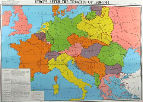 europe map 1919 league i