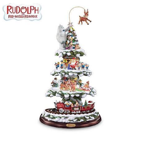 rudolph and friends animated christmas town express train