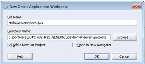 oaf tutorial in oracle apps oracle apps tutorials create simple hello page in oaf