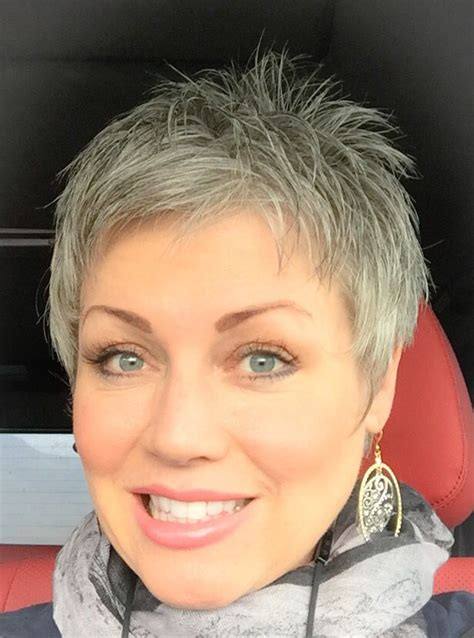 pixie haircuts gray hair 2152 best hair images on pinterest hair cut beautiful