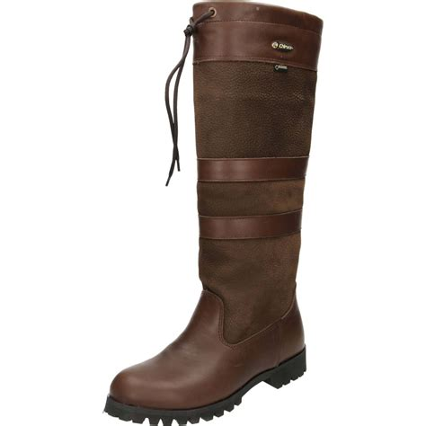 chiruca chocolate country leather knee high boots