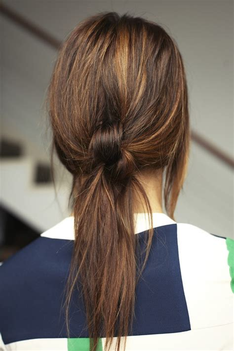 knot hair styles quick cute and easy ponytail variations glam radar